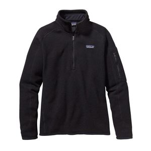 Patagonia Black Better Sweater 1/4 Zip Pullover M